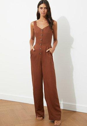 Tuta jumpsuit - brown