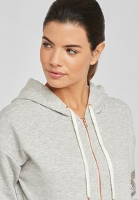 Bench - Zip-up sweatshirt - grau-meliert - 3