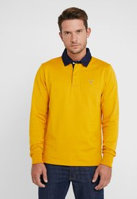 GANT - THE ORIGINAL HEAVY RUGGER - Polo shirt - ivy gold - 0