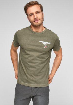 PEANUTS-MOTIV - T-Shirt print - khaki