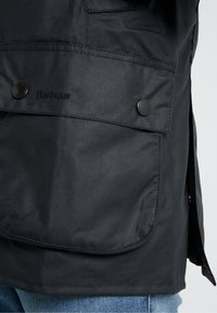 Barbour - ASHBY WAX JACKET - Summer jacket - navy - 3