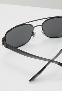 Polo Ralph Lauren - Sunglasses - semishiny dark gunmetal/silvercoloured mirror - 4
