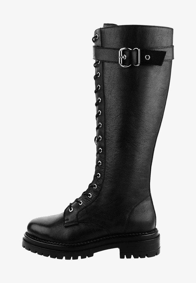 TERAMO - Stivali con plateau - black