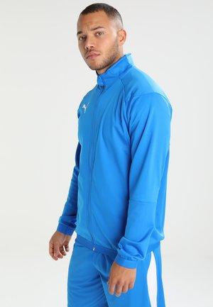 LIGA TRAINING JACKET - Verryttelytakki - electric blue lemonade/white