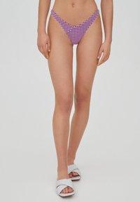 PULL&BEAR - Bikini bottoms - mottled pink - 5