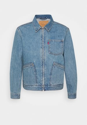 MECHANIC'S TRUCKER - Denim jacket - light blue denim