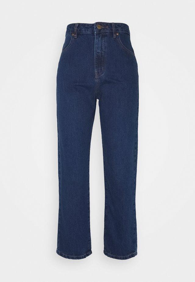 SHELBY - Jeans a sigaretta - indigo rinse