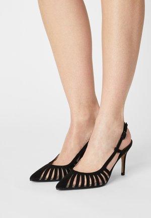 DARBY MULTI STRAP 2 PART COURT - Classic heels - black