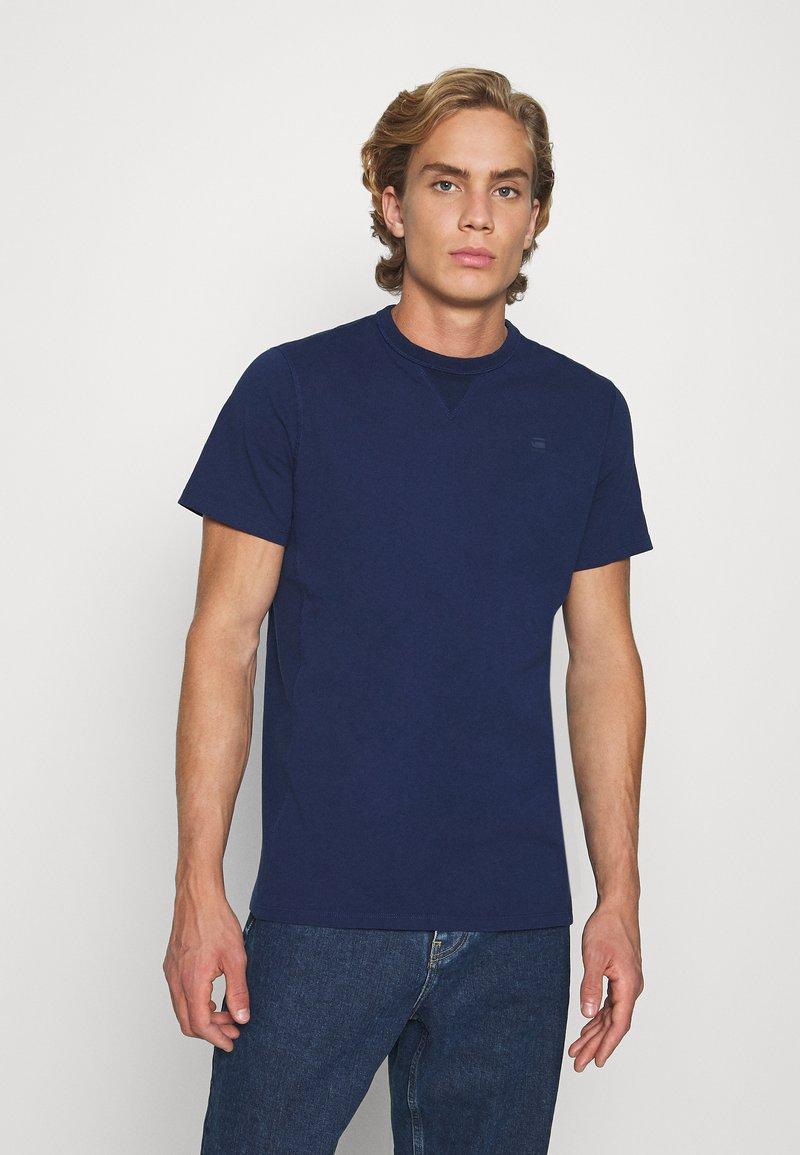 G-Star - PREMIUM CORE R T S\S - T-Shirt basic - imperial blue