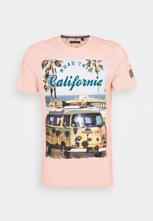 LAGOON - Print T-shirt - summer pink
