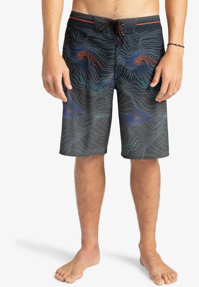RESISTANCE PRO - Shorts da mare - black
