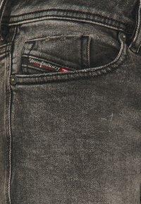 Diesel - SLEENKER - Jean slim - grey denim - 5