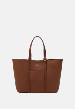 PEBBLED CLASSIC TOTE - Shopper - light brown