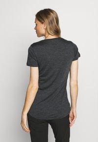 Icebreaker - SPHERE LOW - Basic T-shirt - black - 2