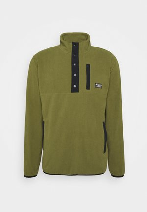 NO DESTINATION - Fleece jumper - olive branch