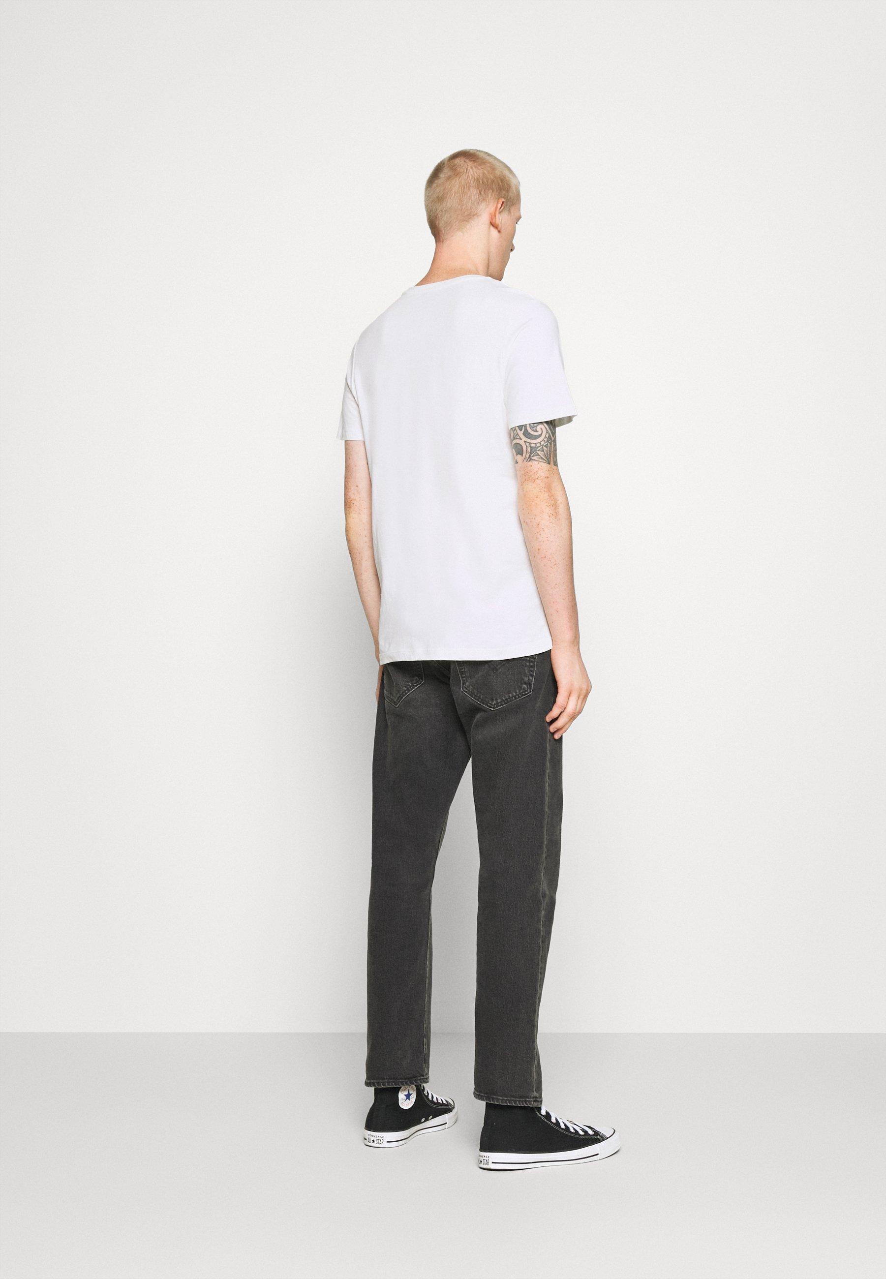Jack & Jones JORCODY TEE CREW NECK - Print T-shirt - cloud dancer SFDcl