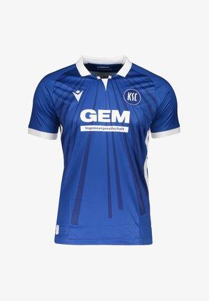 REPLICAS  NATIONAL KARLSRUHER SC AUTHENTIC - T-shirt print - blau