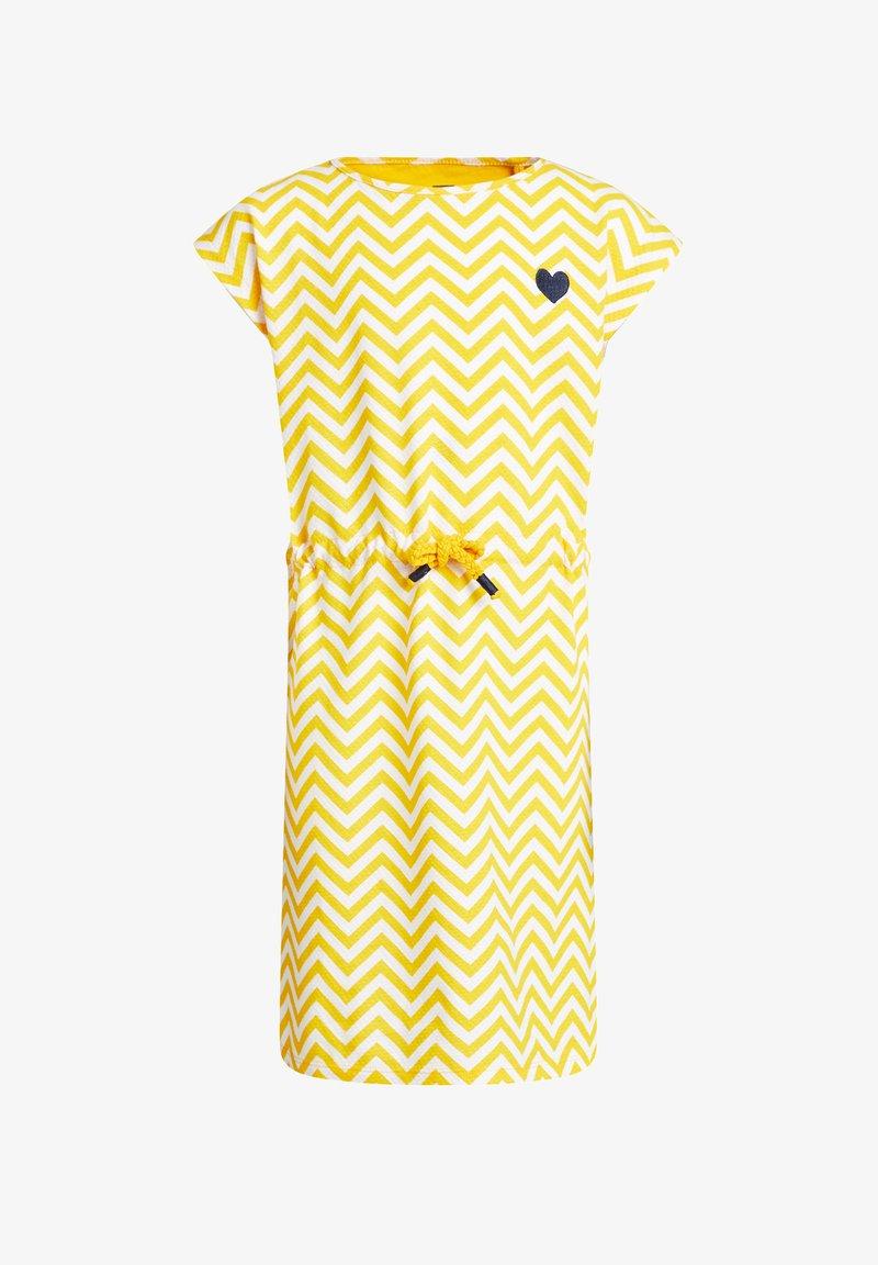 WE Fashion - Korte jurk - yellow