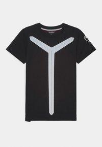 Automobili Lamborghini Kidswear - REFLECTIVE - Triko spotiskem - black pegaso - 0