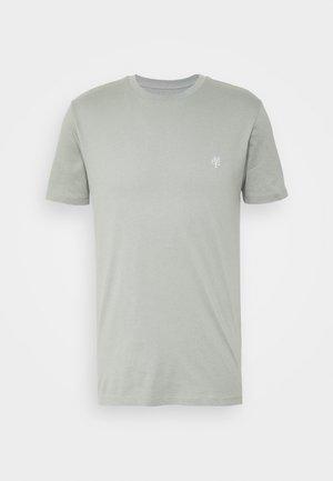 SHORT SLEEVE COLLA - Camiseta básica - shadow