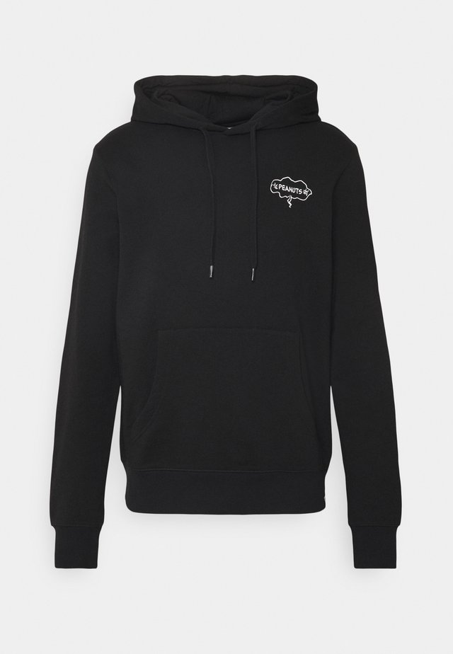 PEANUTS SLIDE - Hoodie - flint black