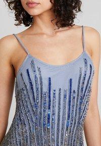 Lace & Beads - DULCE MAXI - Společenské šaty - blue - 3