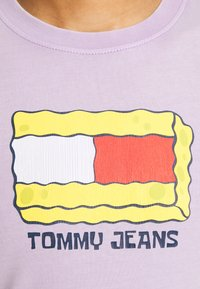 Tommy Jeans - ABO TJU X SPONGEBOB TEE UNISEX - Langarmshirt - lilac dawn - 5