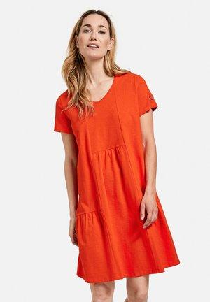 Jersey dress - sundown