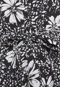 New Look Petite - DAISY PRINT TIE WAIST MINI - Day dress - black pattern - 2