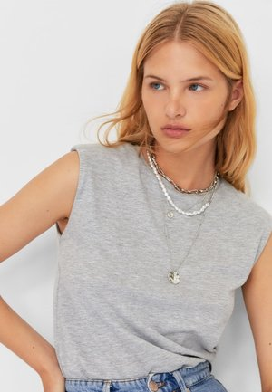 Necklace - grey