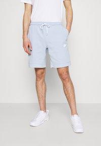 Nike Sportswear - MODERN - Shorts - light armory blue/ice silver/white - 0