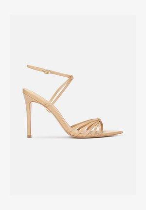 IRINA - High heeled sandals - light brown