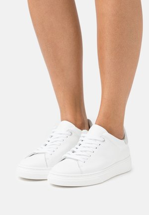 CANDICE - Trainers - white/silver