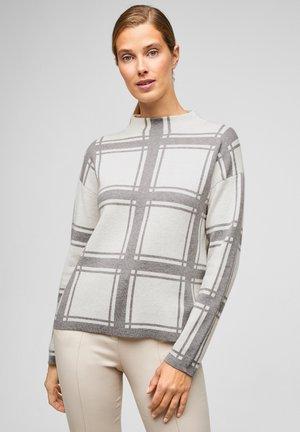 DOUBLE-FACE - Trui - light grey knit