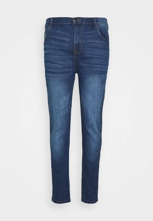 BIG AND TALL - Slim fit jeans - mid wash