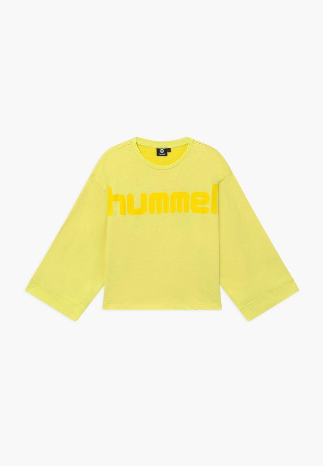 ANNESOFIE - Sweatshirt - limelight