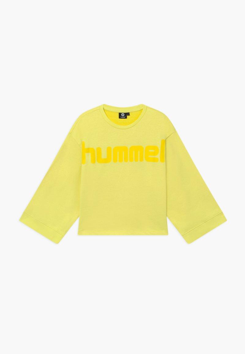 Hummel - ANNESOFIE - Sweatshirt - limelight