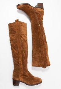 Gabor - Vysoká obuv - cognac - 3