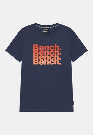 VOSS - T-shirt imprimé - navy