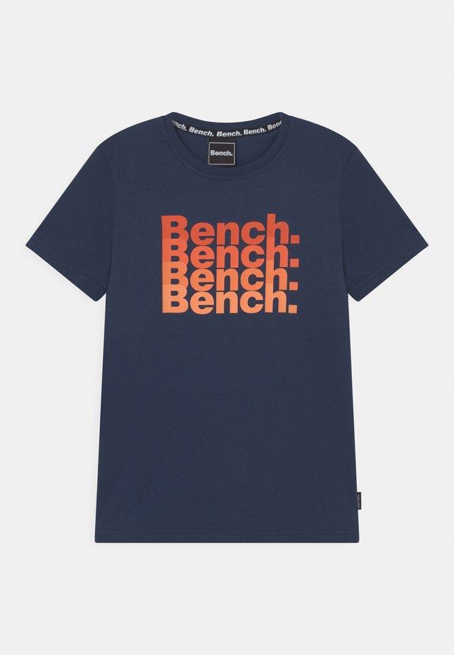 VOSS - T-Shirt print - navy