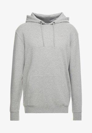 BASIC - Sweat à capuche - mottled grey