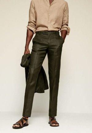 FLORIDA-I - Suit trousers - grün