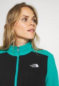 The North Face - WOMENS BLOCKED - Forro polar - jaiden green/black - 3