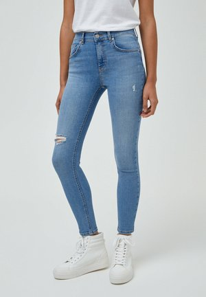 PUSH UP - Jeans Skinny Fit - light blue