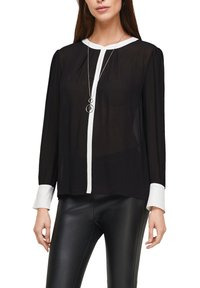 s.Oliver BLACK LABEL - Blouse - black - 4