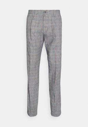 PLEAT - Trousers - colorado indigo