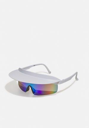 VISOR SUNGLASSES UNISEX - Sunglasses - white