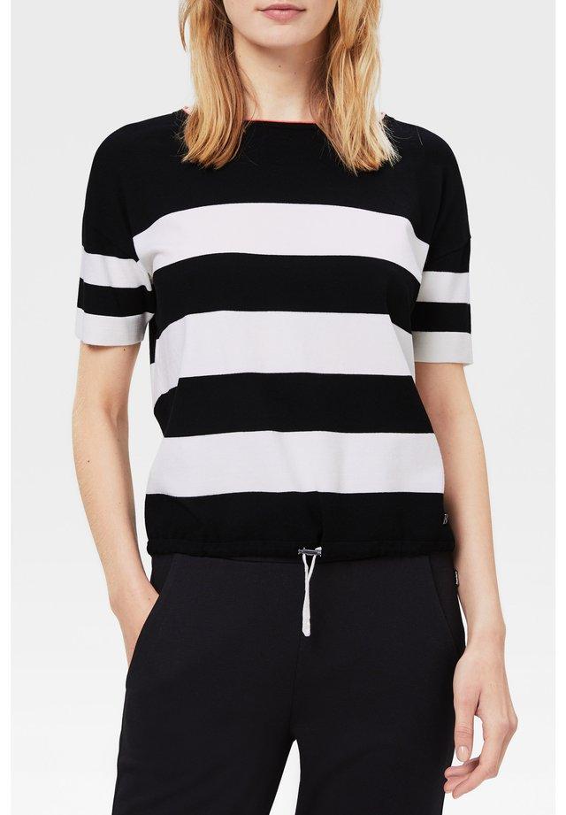 MIO - T-shirt imprimé - schwarz/weiß