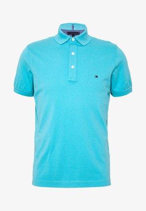 Polo shirt - mottled teal