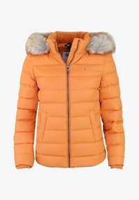 Down jacket - orange - rot